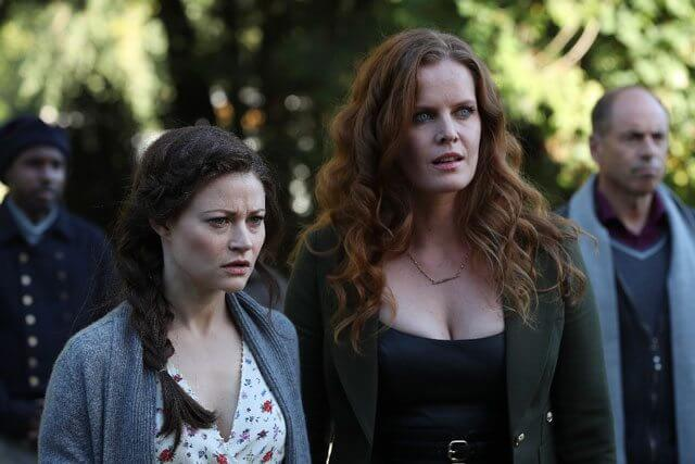 Once Upon a Time star Emilie de Ravin and Rebecca Mader