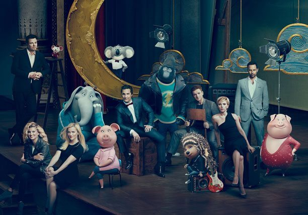 'Sing' actors and characters photo