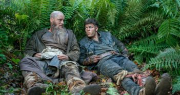 Vikings season 4 stars Travis Fimmel and Alex Andersen