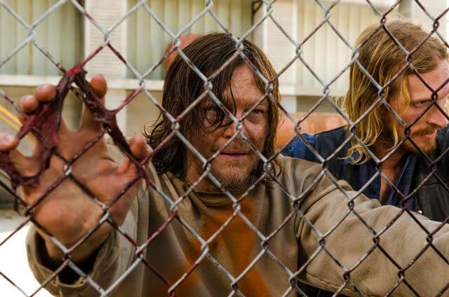 Walking Dead Season 7 Episode 3 Austin Amelio and Norman Reedus