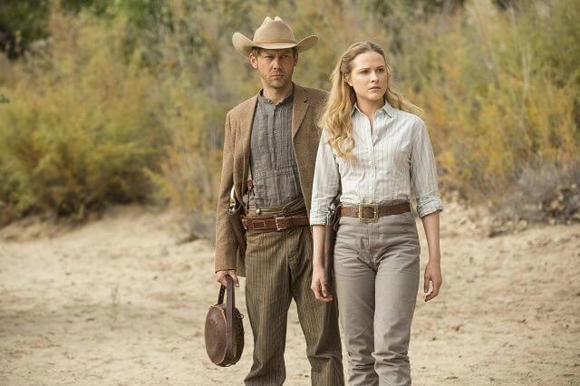 Westworld Episode 8 Jimmi Simpson and Evan Rachel Wood
