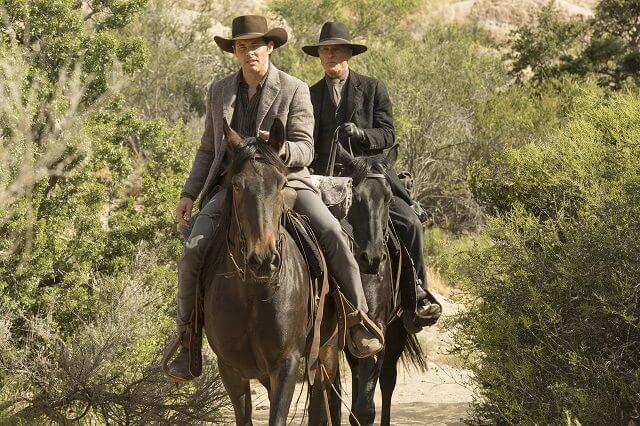 Westworld Season 1 Episode 8 stars James Marsden and Ed Harris