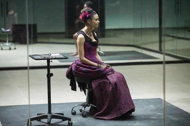 Westworld Season 1 episode 9 Thandie Newton
