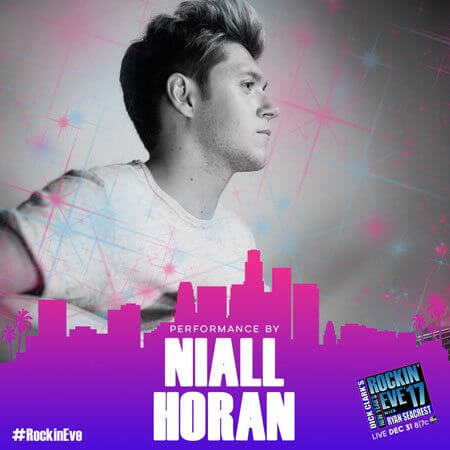 Niall Horan New Year's Rockin' Eve 2017