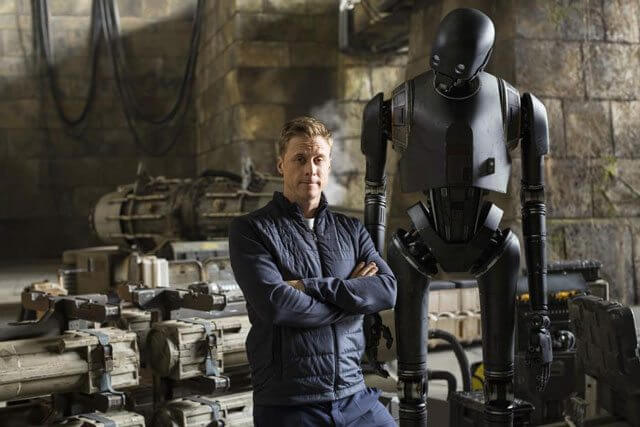 Rogue One A Star Wars Story Alan Tudyk and K-2SO
