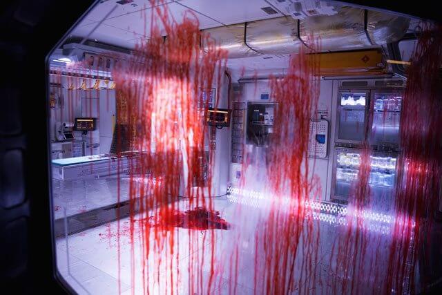Bloody Scene from 'Alien: Covenant'
