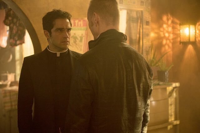 The Exorcist Season 1 Episode 10 Alfonso Herrera and Ben Daniels