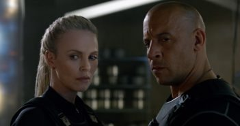 Fate of the Furious Charlize Theron and Vin Diesel