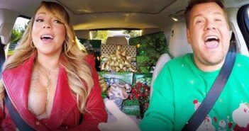 All I Want for Christmas Carpool Karaoke with Mariah Carey and James Corden