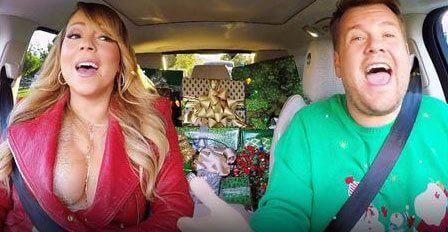 All I Want for Christmas Carpool Karaoke with Mariah Carey and James Corden