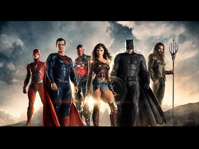 Justice League Movie Cast
