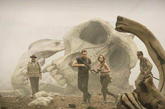 Kong Skull Island Tom Hiddleston and Brie Larson