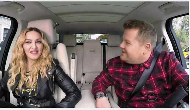 Madonna and James Corden Carpool Karaoke