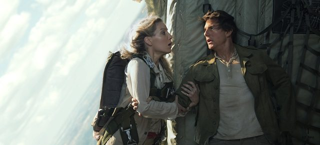 The Mummy star Annabelle Wallis and Tom Cruise
