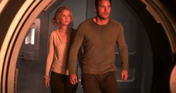 Passengers stars Jennifer Lawrence and Chris Pratt