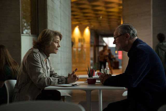 Sense of an Ending Charlotte Rampling and Jim Broadbent