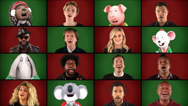Jimmy Fallon, Sing Cast, Paul McCartney Perform Wonderful Christmastime