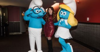 Smurfs The Lost Village Meghan Trainor, Brainy and Smurfette