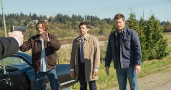 Supernatural season 12 episode 8 Jared Padalecki, Misha Collins, Jensen Ackles
