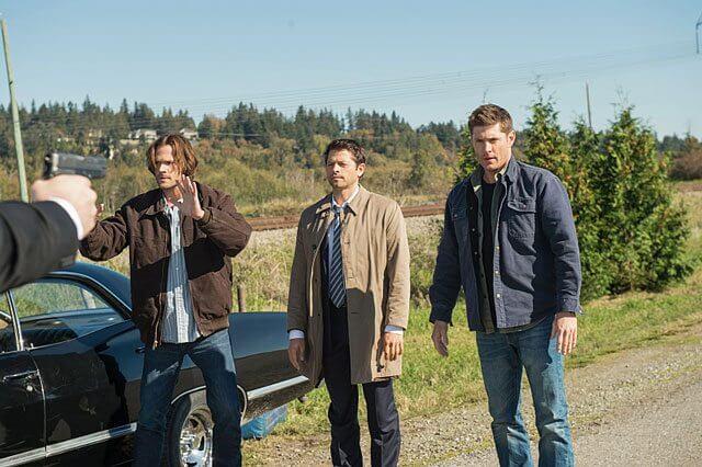 Supernatural season 12 episode 8 Jared Padalecki, Misha Collins, Jensen Ackles