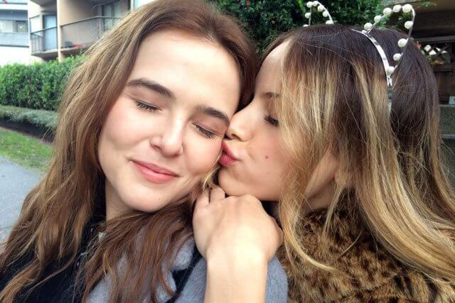 Before I Fall stars Zoey Deutch and Halston Sage