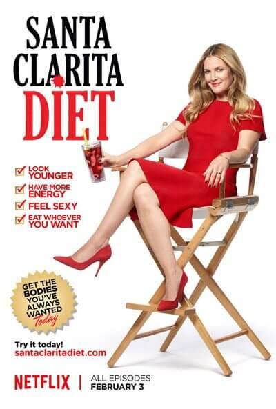 Santa Clarita Diet Drew Barrymore Poster