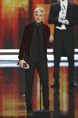 People's Choice Winner Ellen DeGeneres