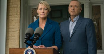 House of Cards stars Robin Wright and Kevin Spacey