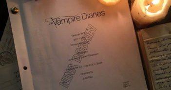 Nina Dobrev back on The Vampire Diaries