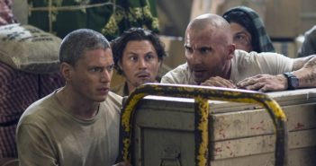Prison Break Season 5 Wentworth Miller and Dominic Purcell
