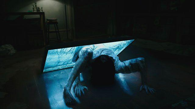 Rings star Bonnie Morgan as Samara