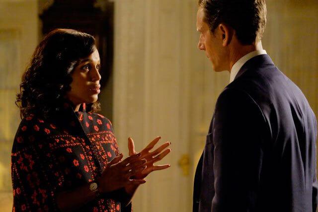 Scandal Kerry Washington and Tony Goldwyn