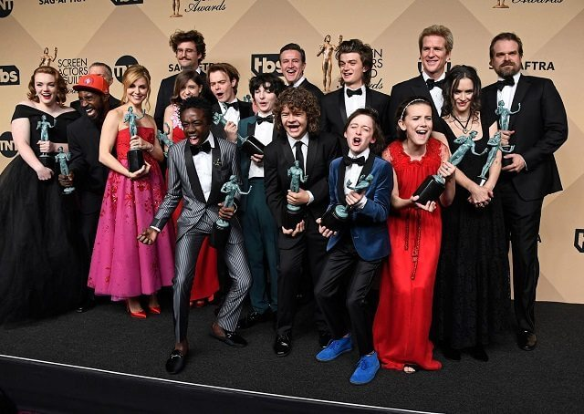 Stranger Things SAG Awards 2017
