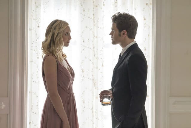 The Vampire Diaries season 8 episode 9 Caroline King and Paul Wesley