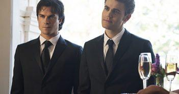 Vampire Diaries Season 8 Episode 9 Ian Somerhalder and Paul Wesley