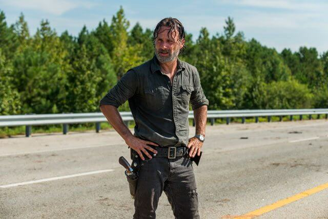 The Walking Dead season 7 episode 9 Andrew Lincoln