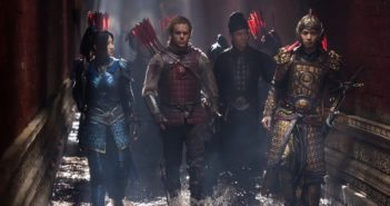The Great Wall stars Matt Damon and Jing Tian