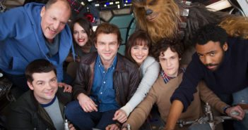 Han Solo Star Wars Cast Photo
