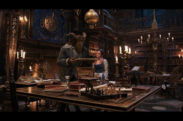 Beauty and the Beast Dan Stevens and Emma Watson
