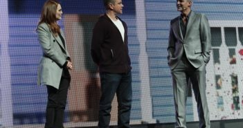 Julianne Moore, Matt Damon, George Clooney at CinemaCon