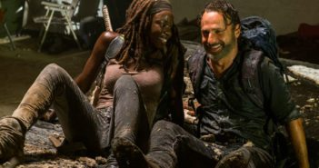 The Walking Dead Season 7 Episode 12 Andrew Lincoln and Danai Gurira
