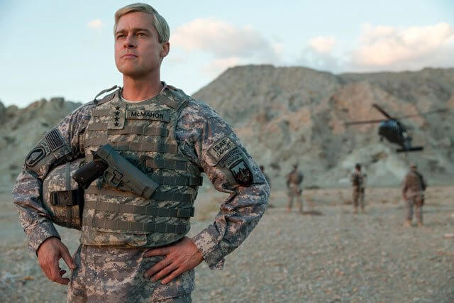 War Machine star Brad Pitt