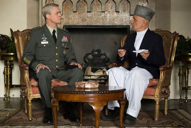War Machine stars Brad Pitt and Ben Kingsley