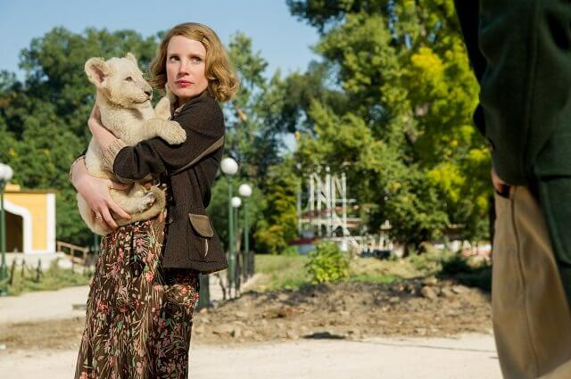 The Zookeeper's Wife star Jessica Chastain