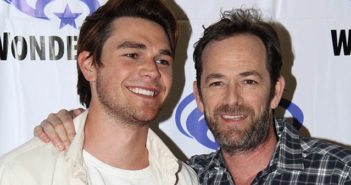 Riverdale stars K.J. Apa and Luke Perry