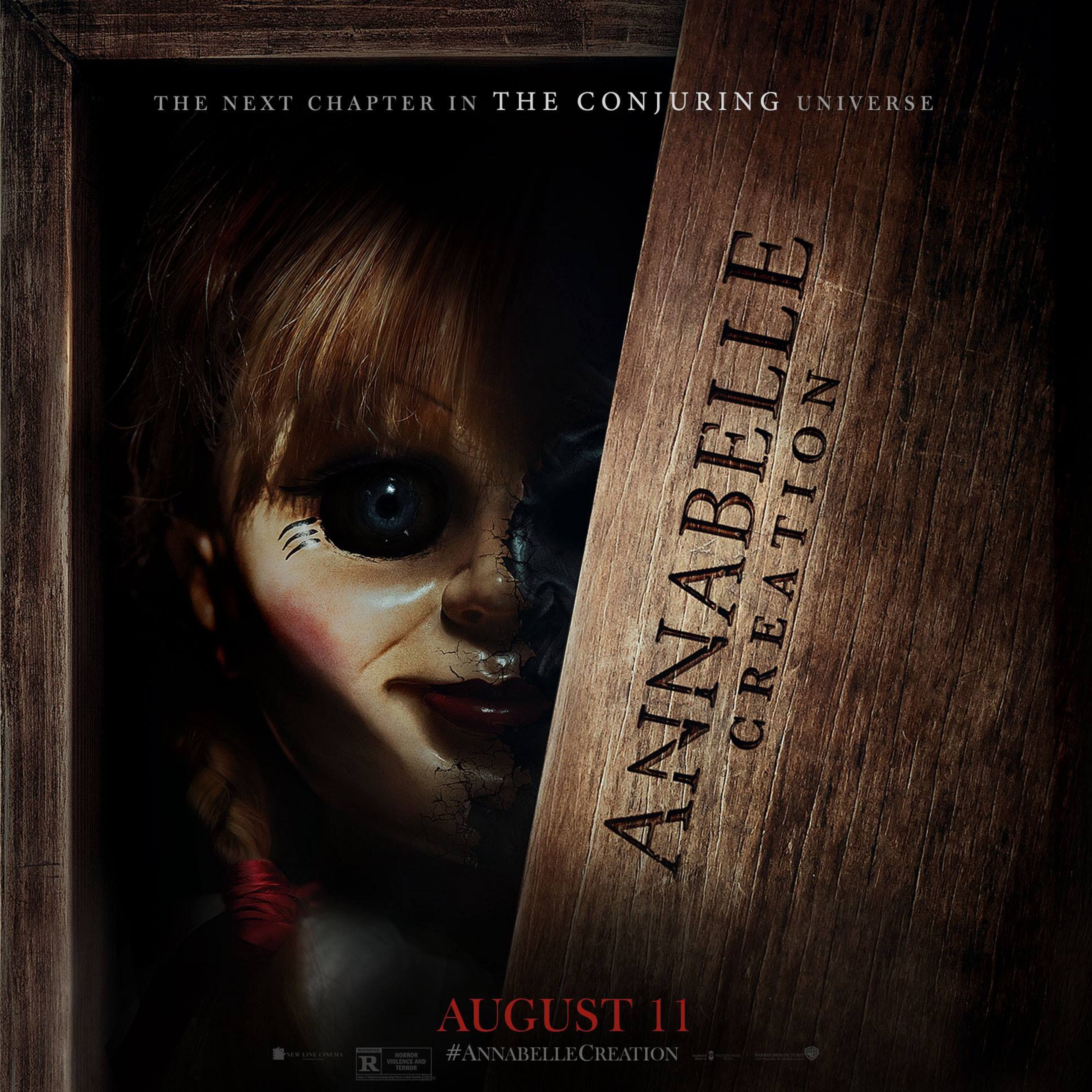 annabelle creation s official movie trailer is super creepy