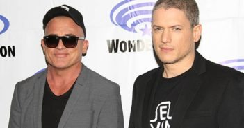 Prison Break stars Wentworth Miller and Dominic Purcell