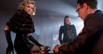 Gotham Season 3 Erin Richards, Cory Michael Smith, Jessica Lucas