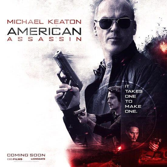 American Assassin Michael Keaton Poster