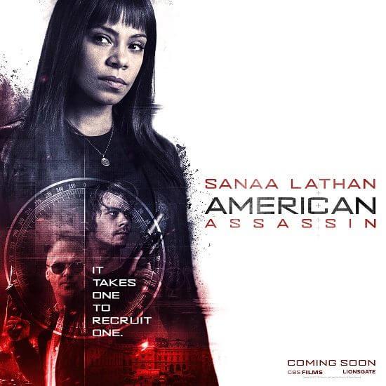 American Assassin Sanaa Lathan Poster